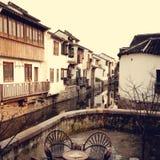 Herbacianego domu tradyci Suzhou Chiny Chiński pojęcie Obraz Stock
