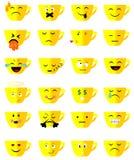 Herbacianej filiżanki emoji Obraz Stock