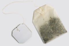 Herbacianej torby odosobniony odgórny widok Obraz Stock