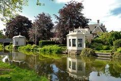 Herbaciani domy Edamscy, Holandia Zdjęcie Royalty Free
