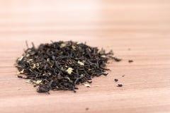 Herbaciani liście przygotowywają dla kucharstwa Zdjęcia Royalty Free