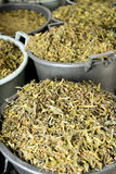 Herbaciani liście obrazy royalty free