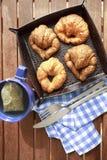 Herbaciany śniadanie zdjęcie stock