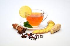 Herbaciany cytryna imbir Zdjęcia Royalty Free