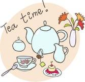 herbaciany czas royalty ilustracja