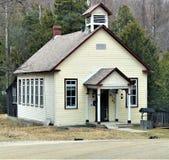 Herbaciany dom w drewnach fotografia royalty free