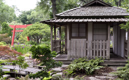 Herbaciany dom w Japonia Zdjęcia Royalty Free