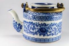 Herbaciany garnek z herbatą w Asia. Zdjęcie Stock