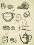 herbaciany rocznik Zdjęcie Royalty Free