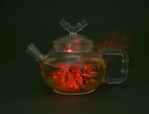 herbaciany teapot Zdjęcia Royalty Free