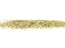 Herbage sea salt on white. Detailed and colorful image of herbage sea salt on white Stock Photo