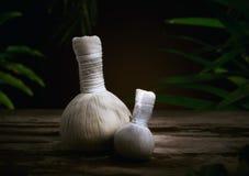 Herbal bags Royalty Free Stock Image