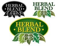 Herbal Blend Seal royalty free illustration