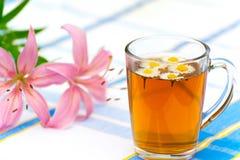Herbal chamomile tea Stock Photo