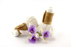 Herbal compress Royalty Free Stock Photo