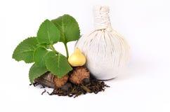 Herbal compress balls Stock Images