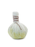 Herbal compress balls for spa treatment Royalty Free Stock Photo