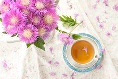 Herbal Cornflower tea Royalty Free Stock Image