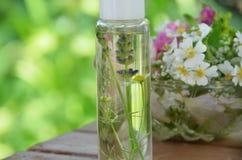 Herbal cosmetics Royalty Free Stock Photos