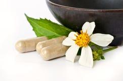 Herbal Drug. Royalty Free Stock Photo