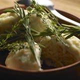 Herbal dumplings Stock Images