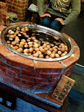 Herbal Egg. Or tea egg, a local must try food in a night market of Taiwan. Tea egg is a typical Chinese savory food commonly sold as a snack, in which a pre stock photos