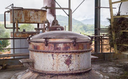 The herbal essences distillery. Royalty Free Stock Photography