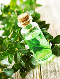 Herbal Essential Oil Bottle Stock Photos