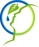 Herbal Facial Concept Design Royalty Free Stock Photo