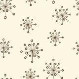 Herbal floral pattern Stock Image