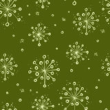 Herbal floral pattern Stock Photography