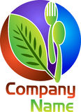 Herbal food logo Stock Photography