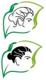 Herbal hair care Royalty Free Stock Photos