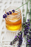Herbal honey Royalty Free Stock Photo