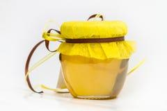 Herbal honey isolated Stock Image