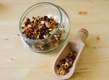 Herbal infusion tea Stock Images