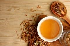 Herbal Lemongrass Tea royalty free stock photo
