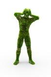 Herbal man Royalty Free Stock Photo