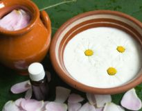 herbal medicinal spa Stock Image