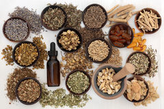 Herbal Medicine for Anxiety Disorders Stock Photo