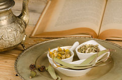 Herbal medicine Stock Image