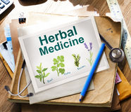 Herbal Medicine Healthcare Wellbeing Concepts Royalty Free Stock Photos