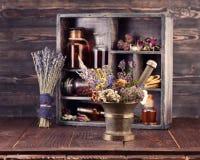 Herbal medicine Medicinal herbs Stock Image