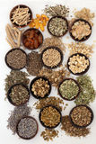 Herbal Medicine for Sleeping Disorders Stock Photography