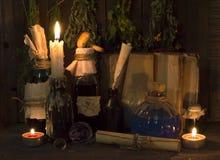 Herbal medicine still life 2 stock photo