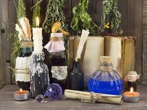 Herbal medicine still life 1 Royalty Free Stock Photo