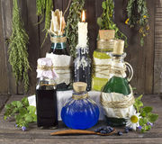 Herbal medicine still life 4 Royalty Free Stock Photography