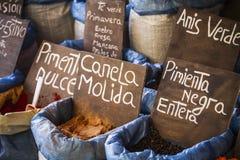 Herbal medicine, street vendor of medicinal herbs, wellness, spi Stock Photo