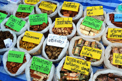 Herbal medicine thai Stock Image