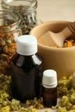 Herbal medicines Stock Images